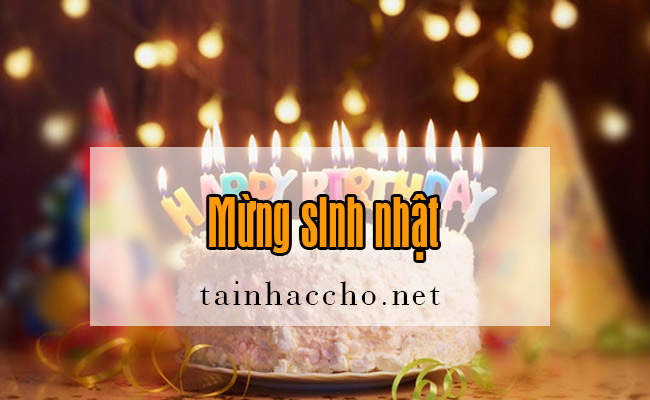 Nhạc chờ Mừng sinh nhật