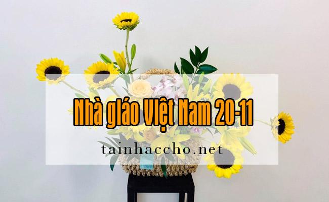 Nhạc chờ Nhà giáo Việt Nam 20-11