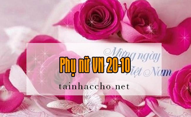 Nhạc chờ Phụ nữ VN 20-10